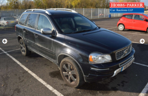 Volvo XC90 SE Lux AWD 105,192 miles for auction 25th