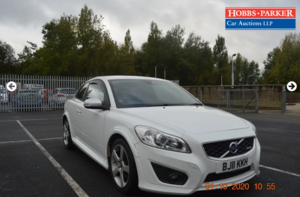 Volvo C30 R design 73,539 Miles for auction 25th