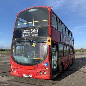 Double Deck London Bus Gemini Wright Volvo B7