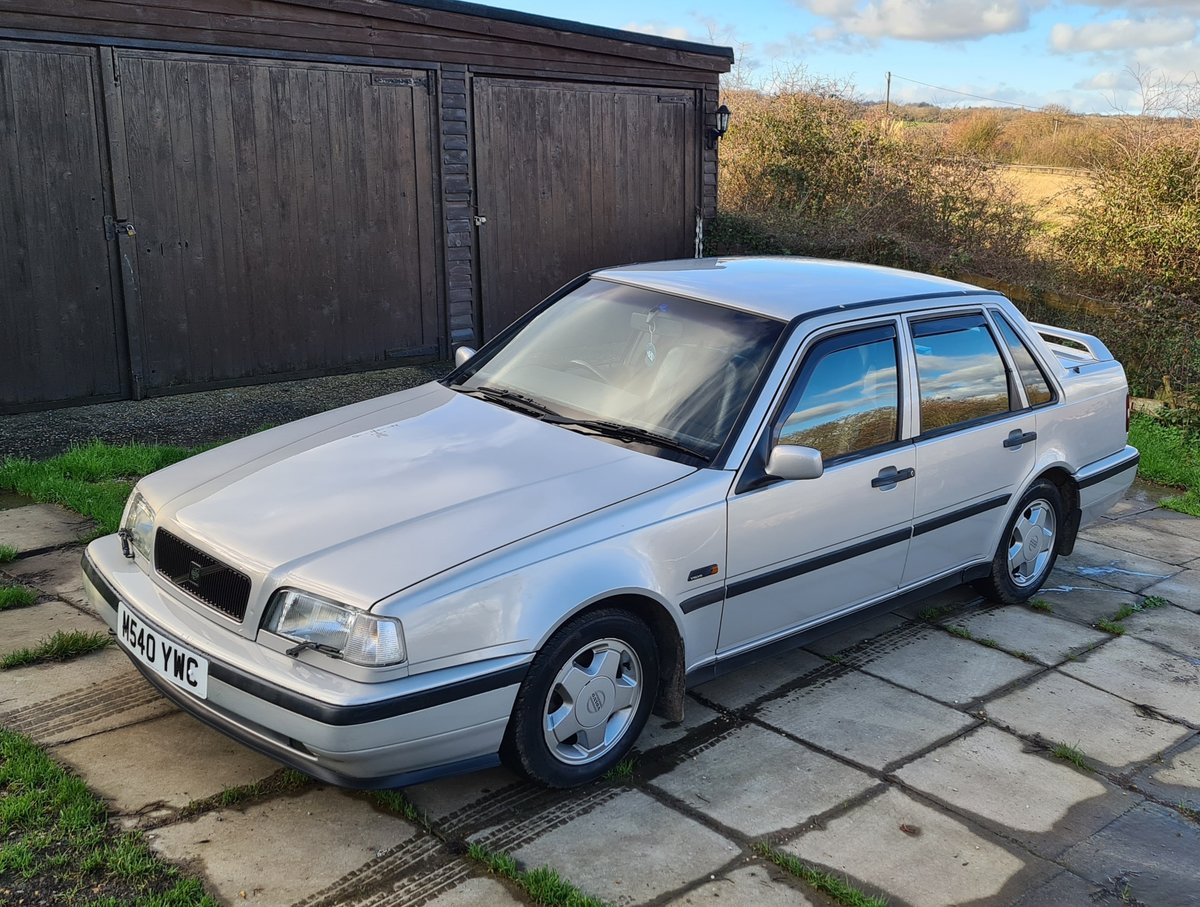 1995 Volvo 460 GLT Manual Saloon For Sale (picture 1 of 12)