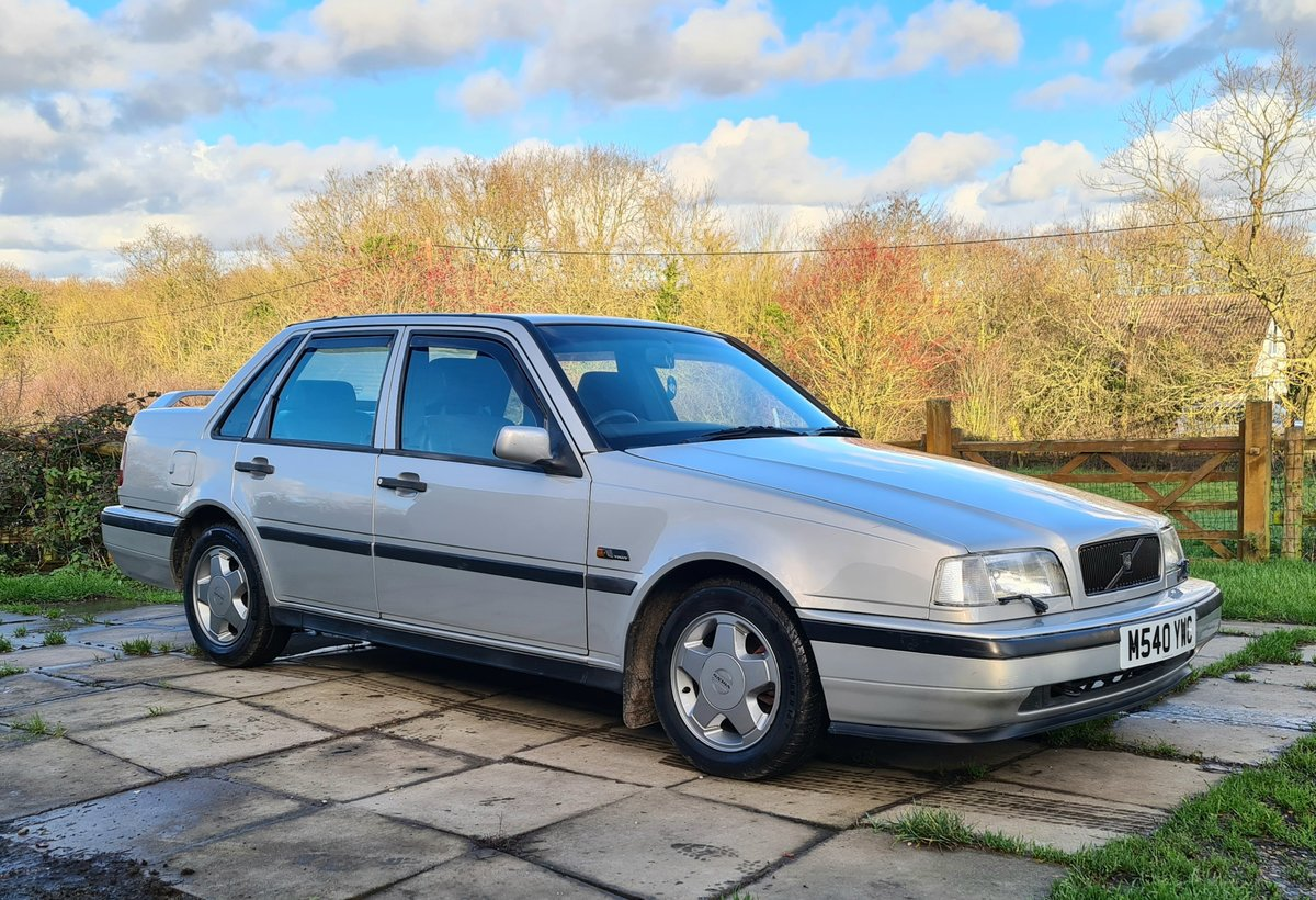 1995 Volvo 460 GLT Manual Saloon For Sale (picture 2 of 12)