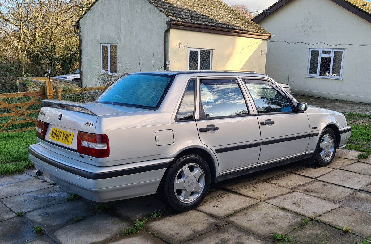 1995 Volvo 460 GLT Manual Saloon For Sale (picture 3 of 12)