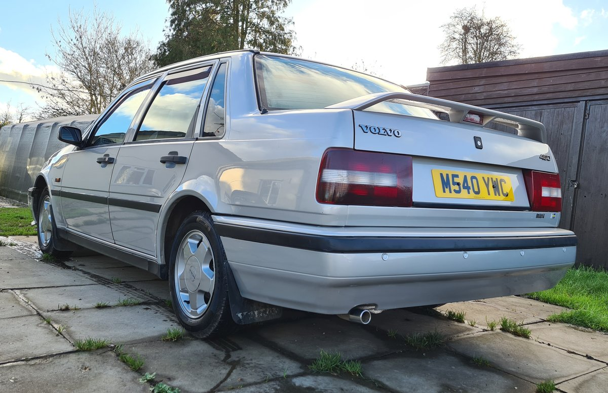 1995 Volvo 460 GLT Manual Saloon For Sale (picture 4 of 12)
