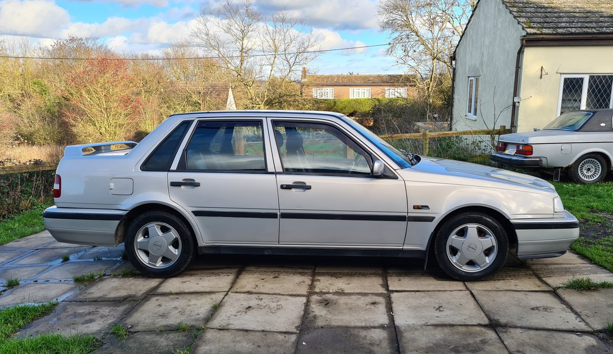 1995 Volvo 460 GLT Manual Saloon For Sale (picture 5 of 12)