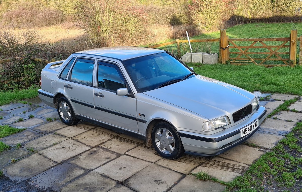 1995 Volvo 460 GLT Manual Saloon For Sale (picture 6 of 12)