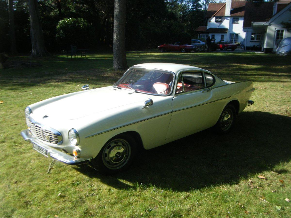 1967 VOLVO P1800S WITH OVERDRIVE (The Saint) For Sale (picture 5 of 12)