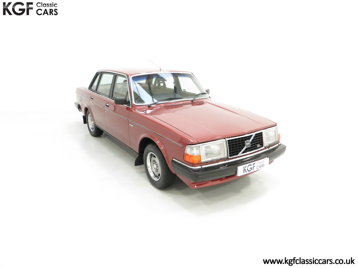 1982 An Incredible Volvo 244GL in Original Condition 41,135 Miles For Sale (picture 2 of 30)