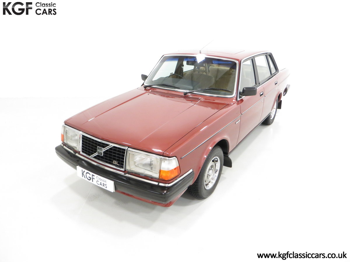 1982 An Incredible Volvo 244GL in Original Condition 41,135 Miles For Sale (picture 5 of 30)