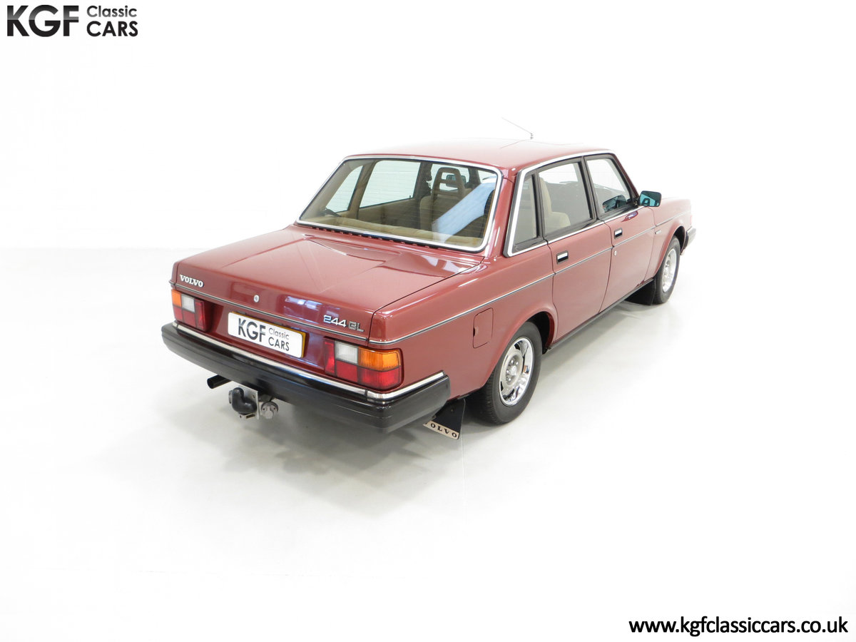 1982 An Incredible Volvo 244GL in Original Condition 41,135 Miles For Sale (picture 12 of 30)