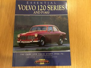 Volvo 120 and P1800 book