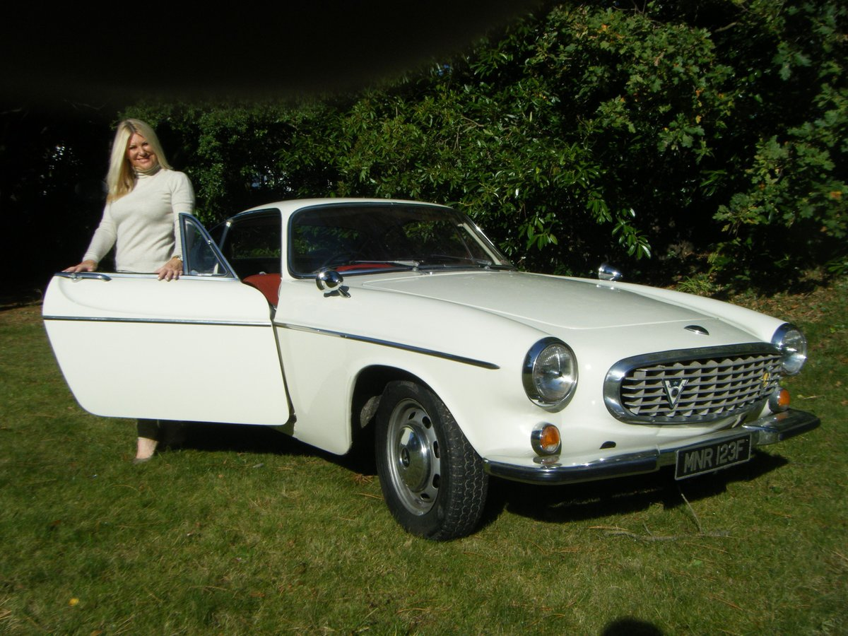 1967 VOLVO P1800S SPORTS COUPE with overdrive (the Saint) For Sale (picture 2 of 12)