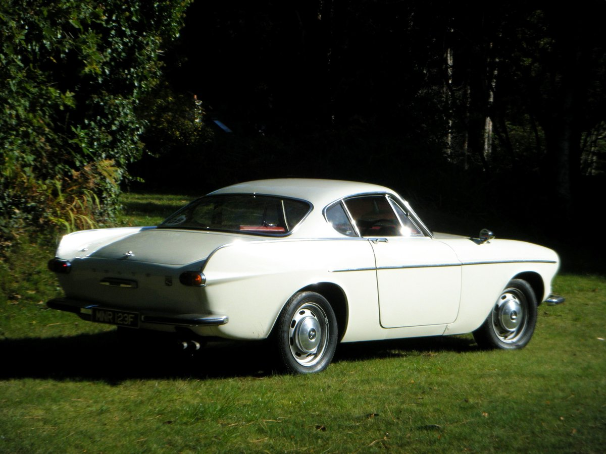 1967 VOLVO P1800S SPORTS COUPE with overdrive (the Saint) For Sale (picture 4 of 12)