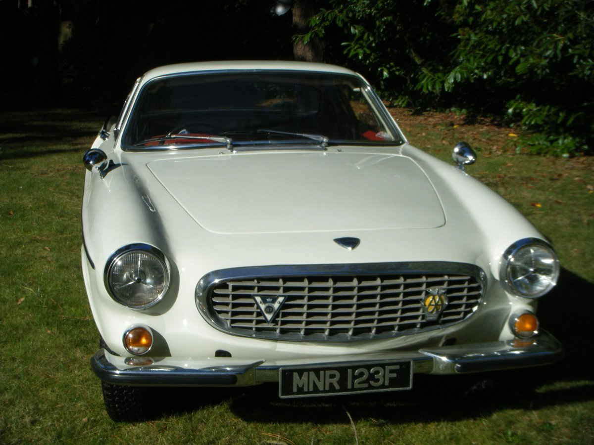 1967 VOLVO P1800S SPORTS COUPE with overdrive (the Saint) For Sale (picture 5 of 12)