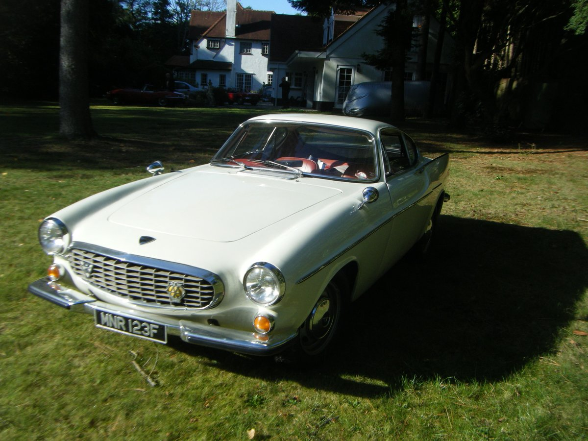 1967 VOLVO P1800S SPORTS COUPE with overdrive (the Saint) For Sale (picture 6 of 12)