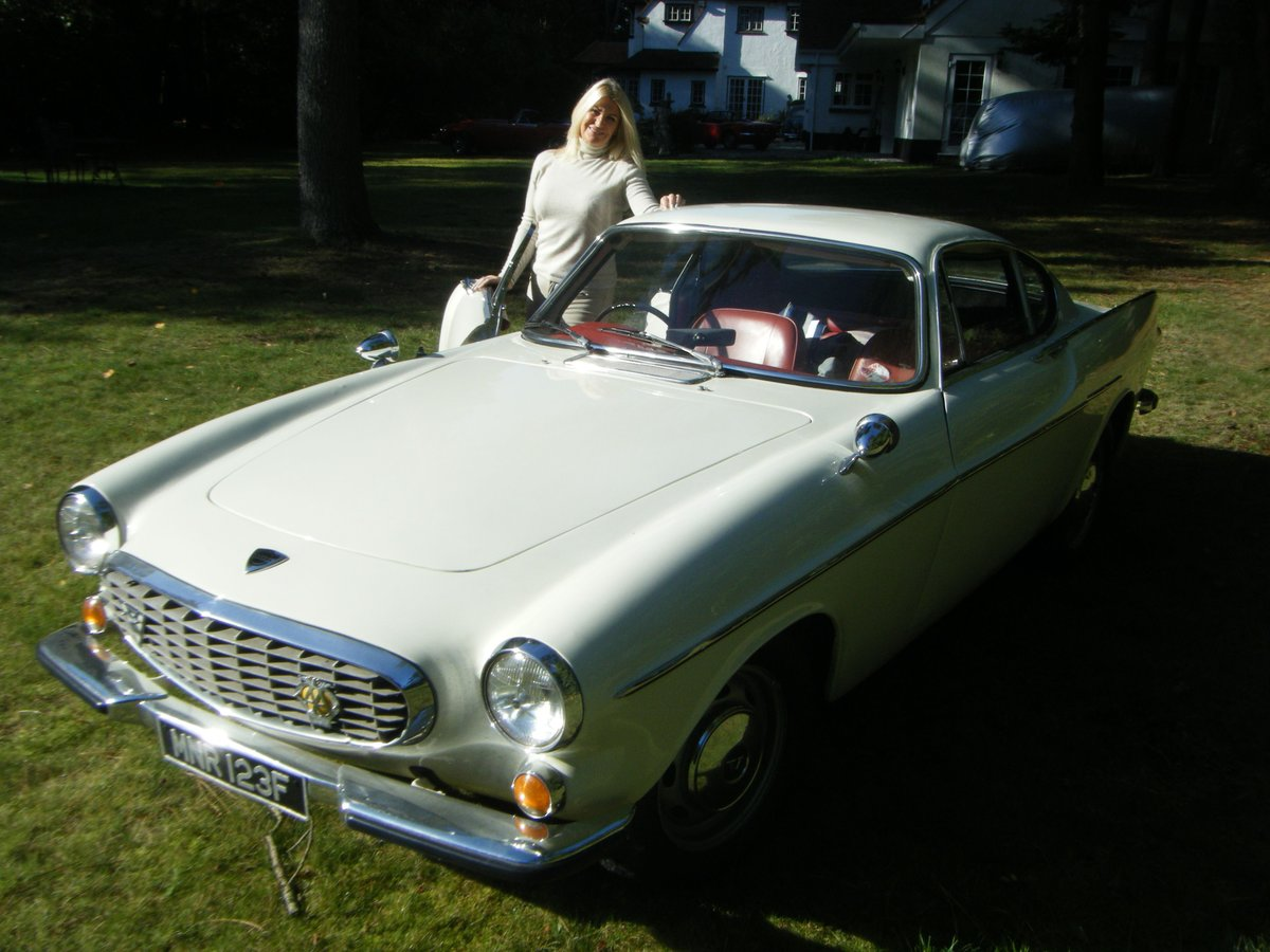 1967 VOLVO P1800S SPORTS COUPE with overdrive (the Saint) For Sale (picture 7 of 12)