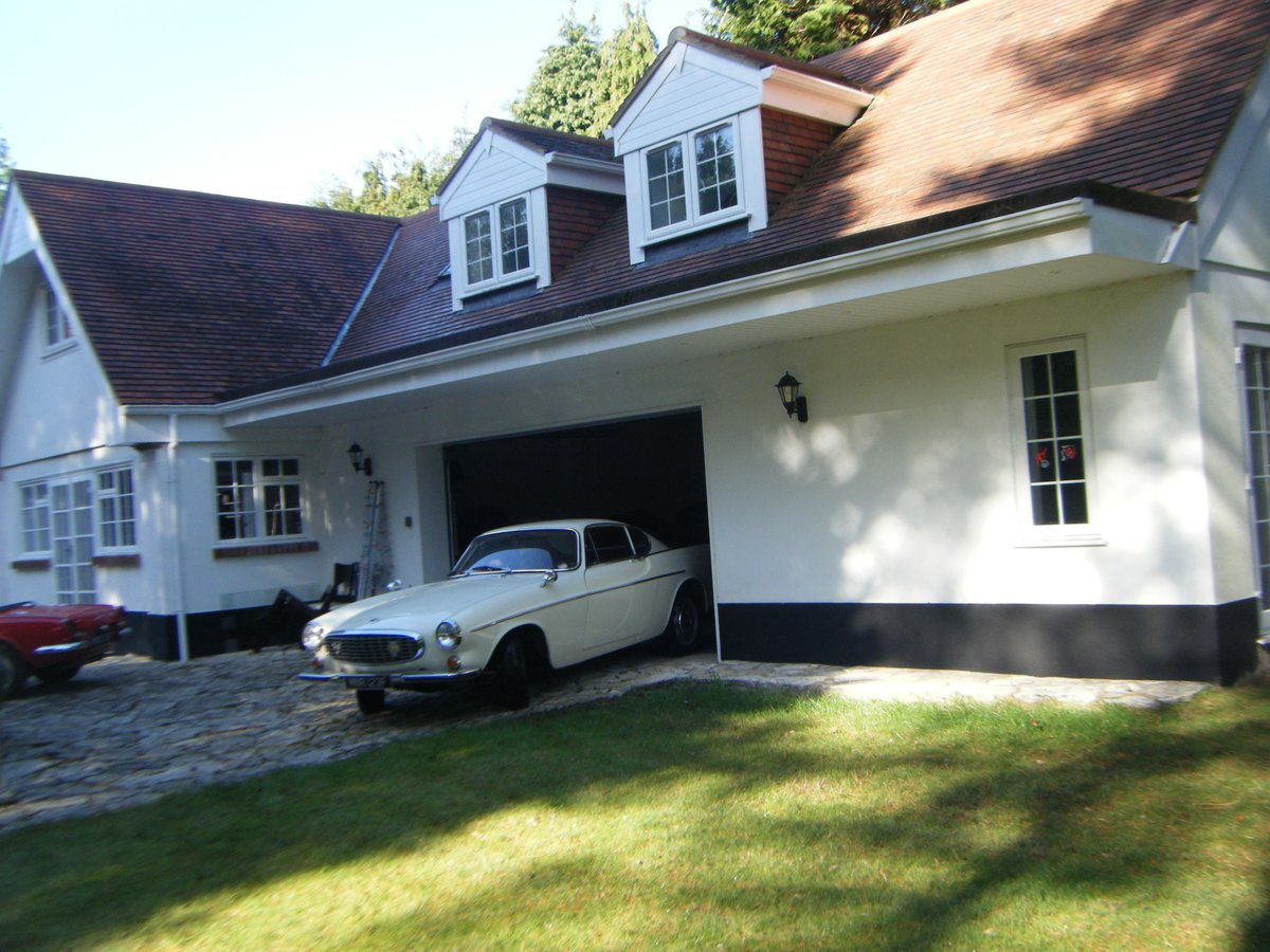 1967 VOLVO P1800S SPORTS COUPE with overdrive (the Saint) For Sale (picture 11 of 12)