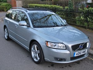 Picture of VOLVO V50 DRIVE 2011MY SE - RARE HIGHER THAN SE LUX SPEC 17K For Sale