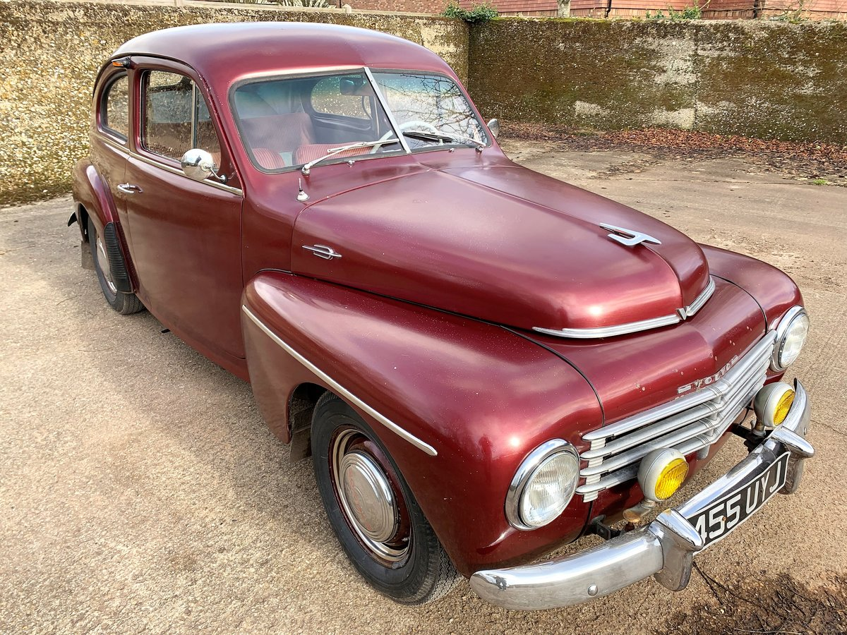 1953 VOLVO PV 444 E - nice useable example and rather rare For Sale (picture 1 of 26)