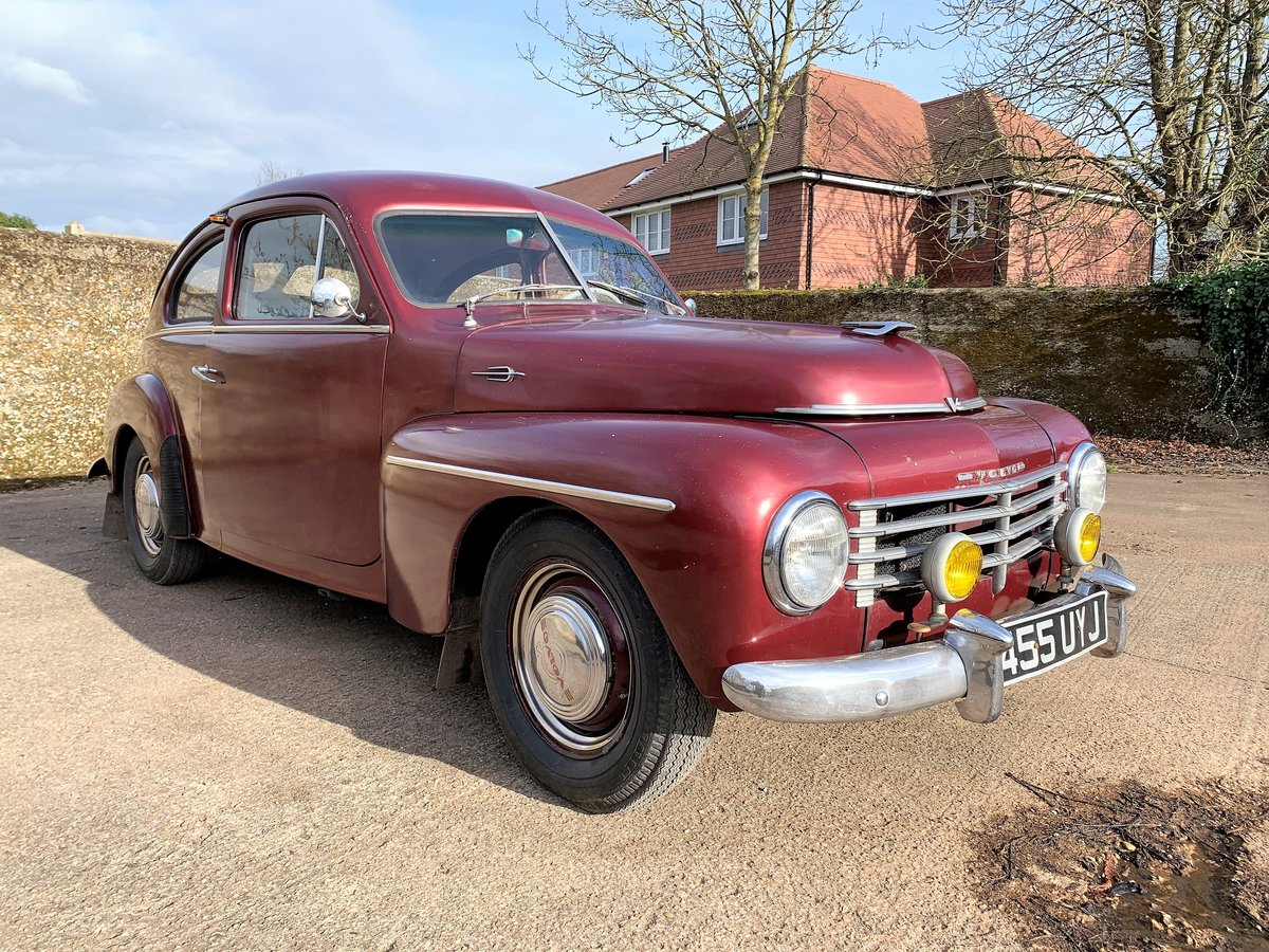 1953 VOLVO PV 444 E - nice useable example and rather rare For Sale (picture 2 of 26)