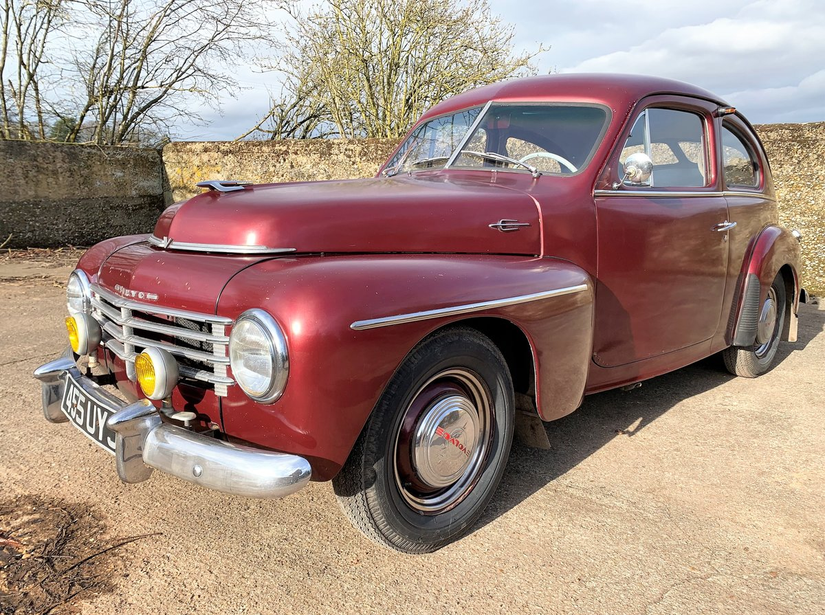 1953 VOLVO PV 444 E - nice useable example and rather rare For Sale (picture 3 of 26)