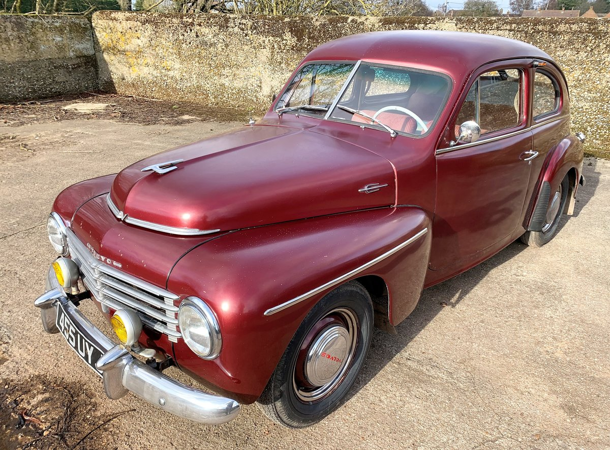 1953 VOLVO PV 444 E - nice useable example and rather rare For Sale (picture 13 of 26)