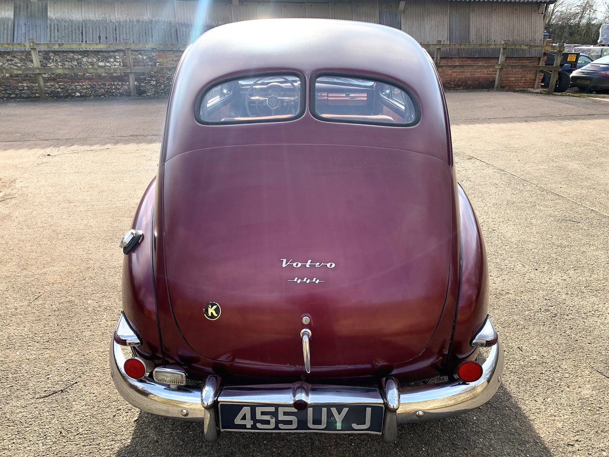 1953 VOLVO PV 444 E - nice useable example and rather rare For Sale (picture 16 of 26)