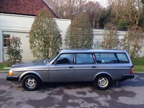1985 Volvo 240 GL Auto Estate 54k Miles SOLD | Car And Classic