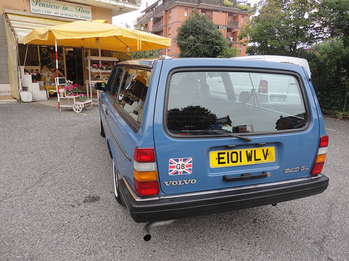 VOLVO 240GL SW 1988 RHD Auto Only 62000 mls  HAS TO GO...... For Sale (picture 6 of 6)