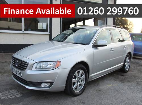 2013 VOLVO V70 2.0 D4 BUSINESS EDITION 5DR Manual SOLD (picture 1 of 6)