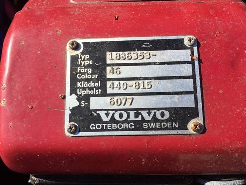 1972 Volvo 1800 ES For Sale (picture 6 of 6)