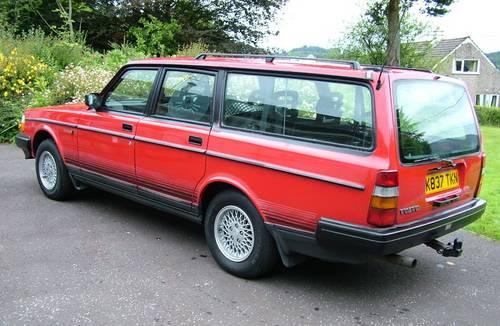 Volvo 240 Torslanda Estate 1993 SOLD (picture 2 of 6)
