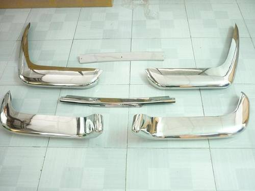 1973 Volvo P1800 Cow Horn Stainless Steel Bumper For Sale (picture 2 of 6)