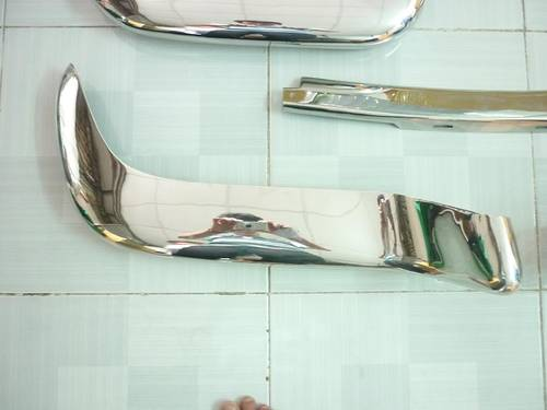 1973 Volvo P1800 Cow Horn Stainless Steel Bumper For Sale (picture 3 of 6)