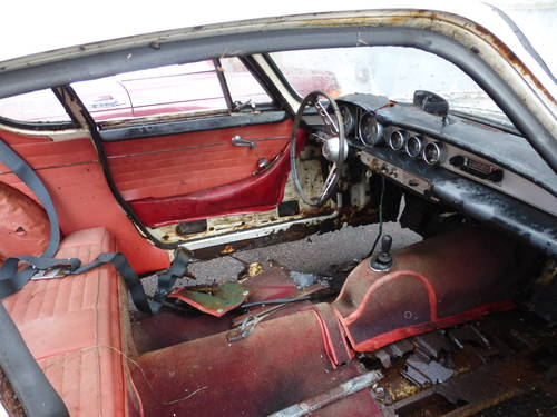 1964 Volvo P1800S Coupe Complete Restoration or Parts Car- For Sale (picture 5 of 6)
