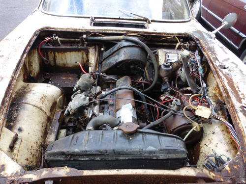 1964 Volvo P1800S Coupe Complete Restoration or Parts Car- For Sale (picture 6 of 6)
