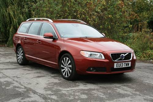 2013 Volvo V70 D5 SE LUX For Sale (picture 1 of 6)