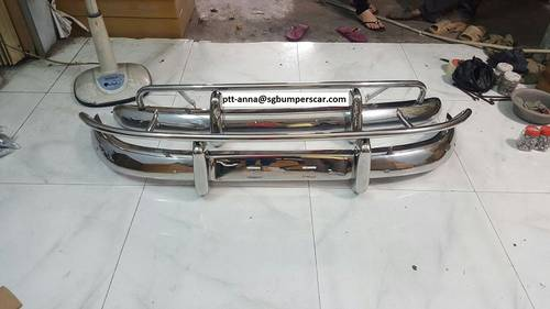 Volvo PV544 Stainless Steel Bumper- US Style For Sale (picture 1 of 3)