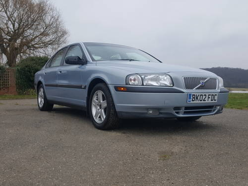 Volvo S80 2.4 Petrol Manual 2002 For Sale (picture 1 of 6)