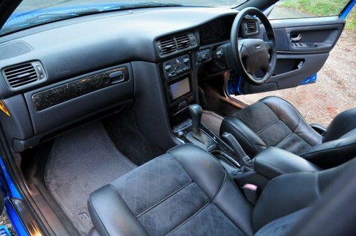 1999 Volvo V70R AWD Lazer Blue,62,477 miles from new SOLD (picture 5 of 6)