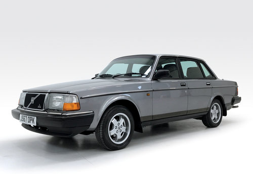 1991 Volvo 240 GL auto stunning, DEPOSIT TAKEN SOLD (picture 1 of 6)