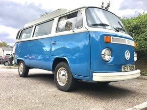 VW Camper original UK RHD Pop top