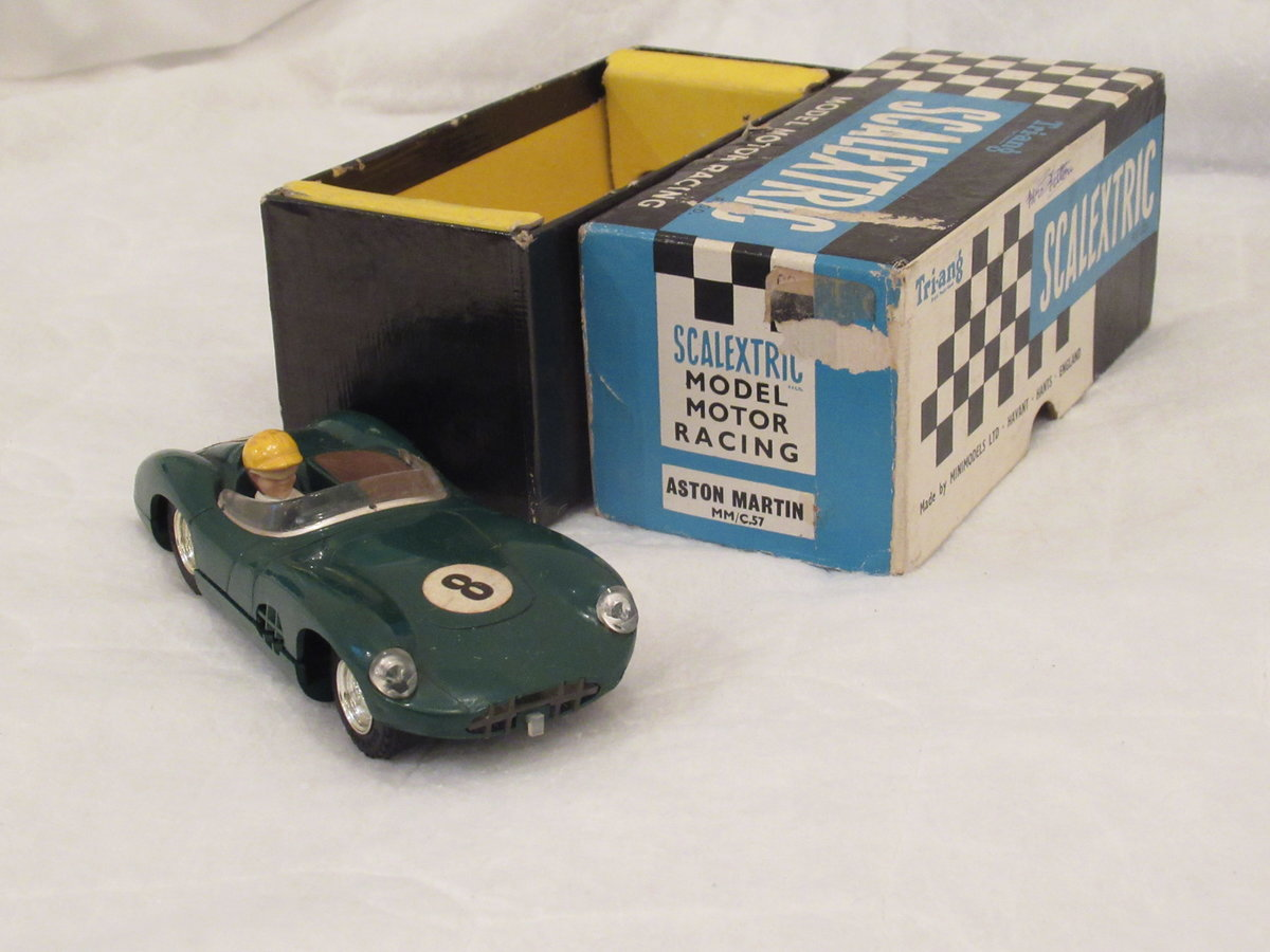 VANWALL SCALEXTRIC BLUE circa 1960 For Sale (picture 3 of 4)