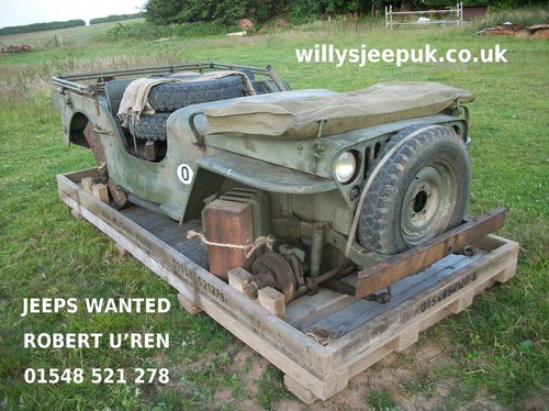 1942 willys jeep crate £400 For Sale (picture 4 of 6)