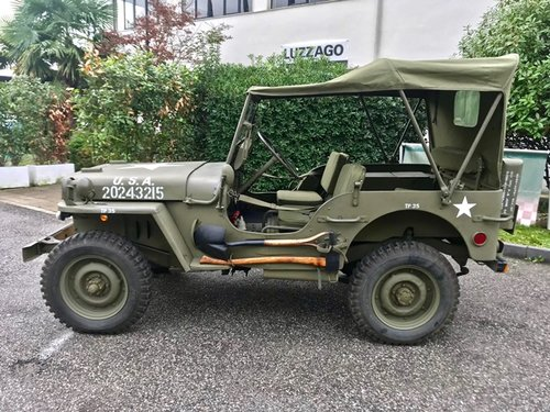 1945 WILLY'S MB JEEP OVERLAND FULLY RESTORED SOLD (picture 2 of 6)