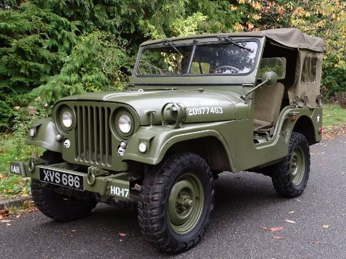 1956 Jeep Willys 2.0 GENUINE WILLYS M38A1 JEEP LOOK SOLD (picture 1 of 6)