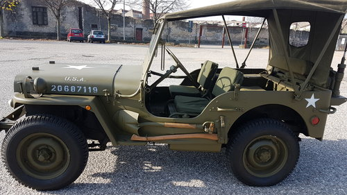1942 Willys jeep  MB/GPW For Sale (picture 1 of 6)