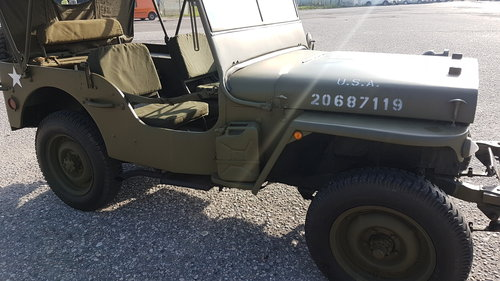 1942 Willys jeep  MB/GPW For Sale (picture 6 of 6)