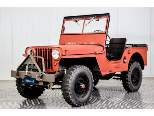 1946 Willys Jeep CJ-2A For Sale (picture 1 of 6)