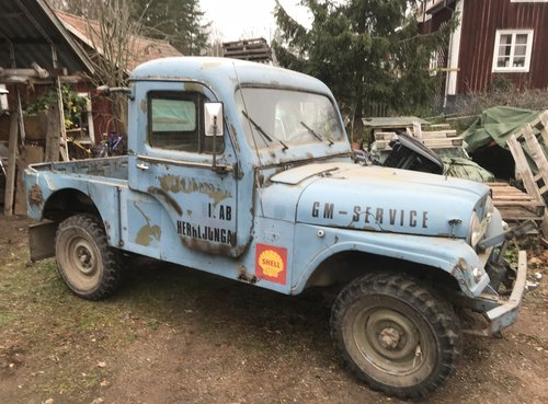 1960 Willys Jeep rare CJ-6H Swedish Airforce For Sale (picture 1 of 6)