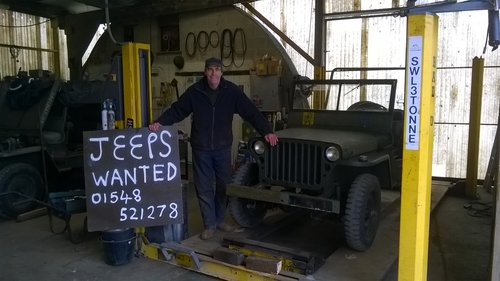 1942 willys or  hotchkiss jeep For Sale (picture 1 of 1)